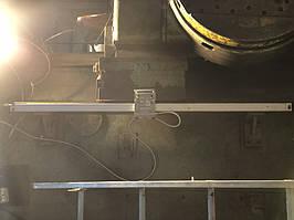 Установка оптических линеек DLS и цифровой индикации DELOS DS-3V на горизонтально-расточной станок станок 2622В 16
