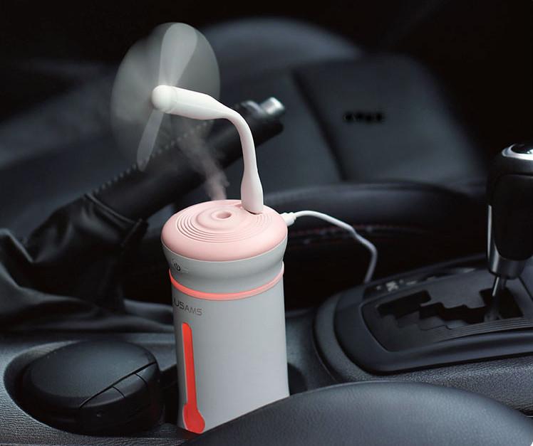 Увлажнитель воздуха Usams US-ZB043 ультразвуковой. Увлажнитель воздуха для дома