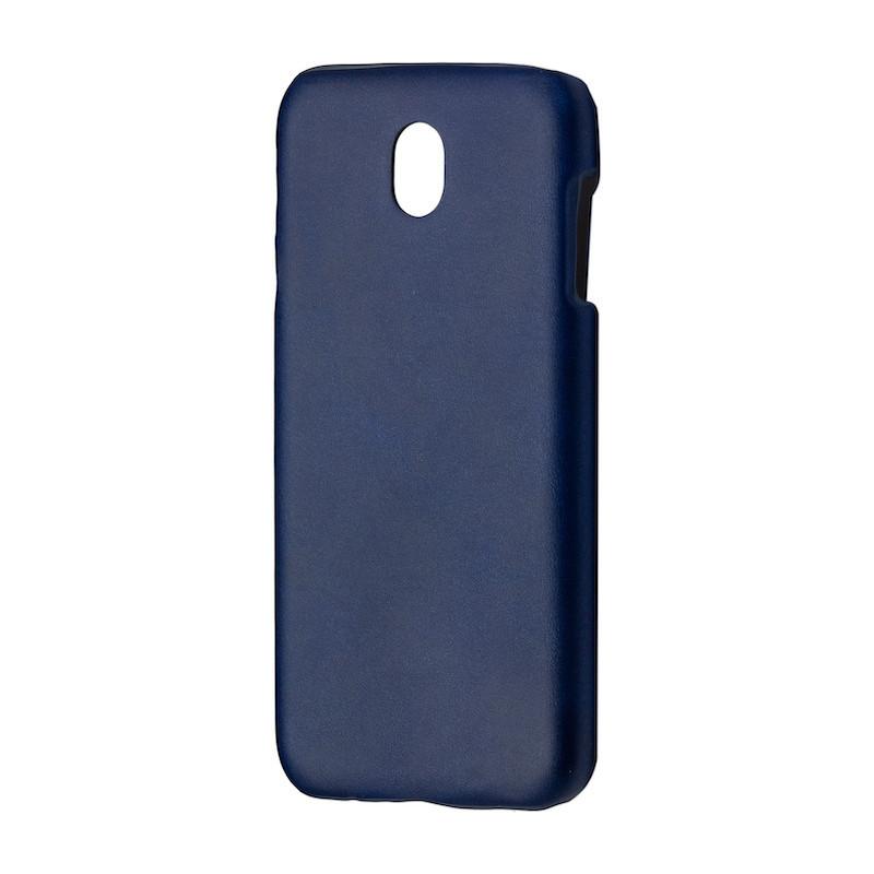 Чехол кожа открытая Samsung J530 (2017) (blue)
