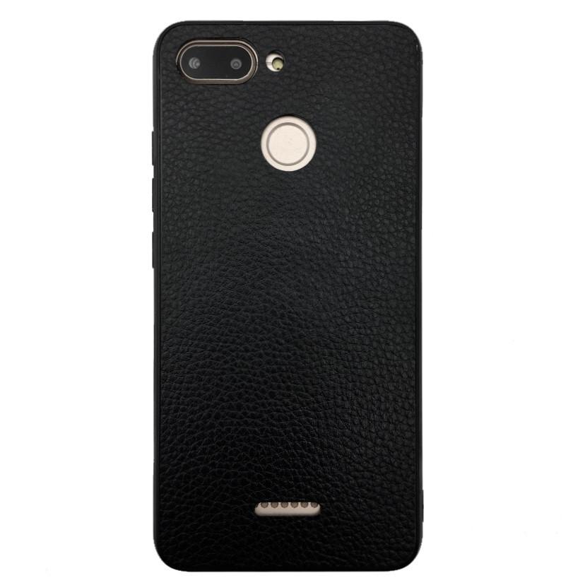 Чехол Leather Case Business Xiaomi Redmi 6 (black)