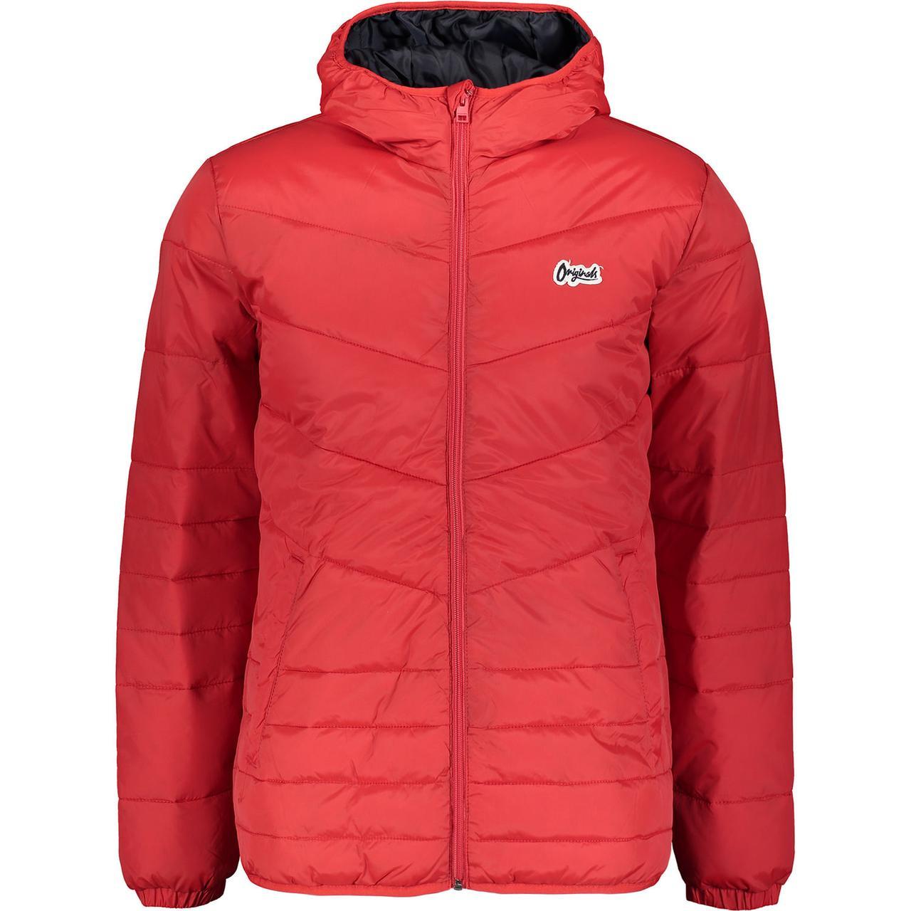 9dc4c229 Jack & Jones.Чоловіча спортивна весняно-осіння куртка.Червона.Оригінал. -