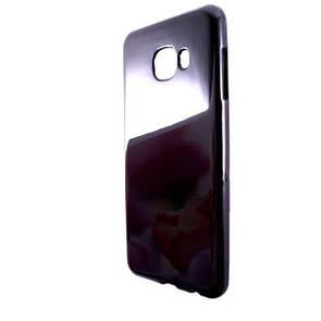 Чехол глянец Ртутный Samsung C5 (black)