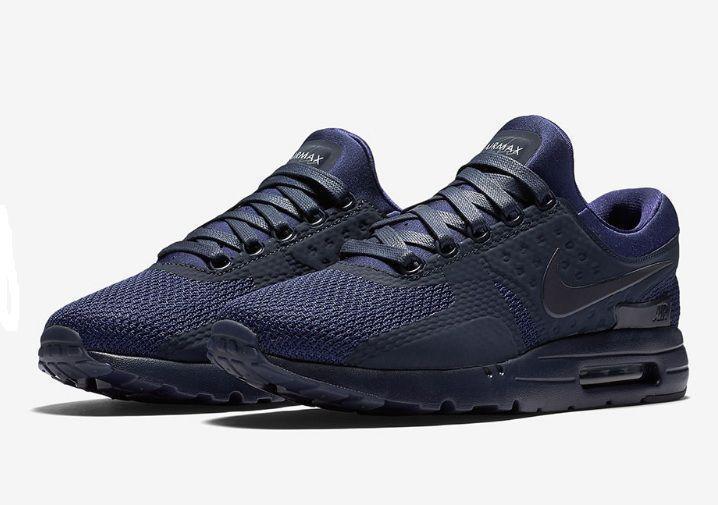 b48d0abc Мужские кроссовки в стиле Nike Air Max Zero Blue, синие . Код товара: KS