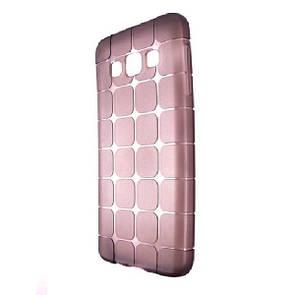 Чехол-накладка DK-Case силикон ROCK Cube для SAMSUNG A300 (dark)