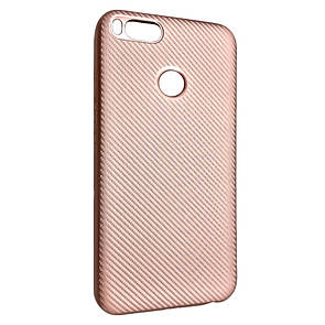 Чехол Carbon Xiaomi Mi A1 (Mi 5X) (rose gold)