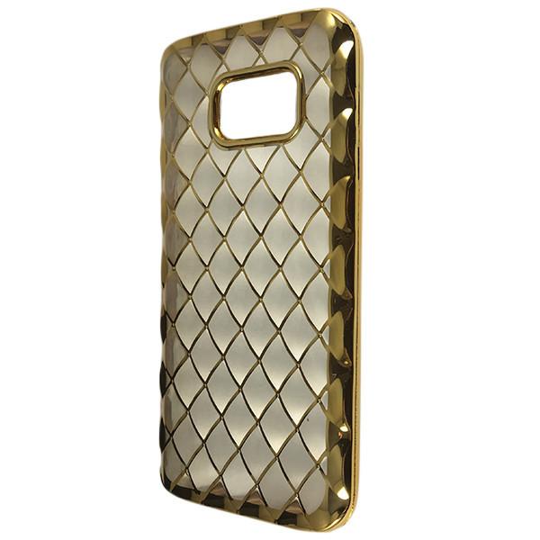 Чехол Диван Золото Инны Samsung S7 (gold/clear)