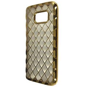 Чехол-накладка DK-Case силикон Диван Золото Инны для Samsung S7 (gold/clear)