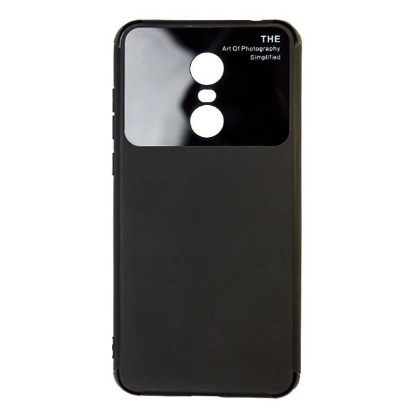 Чехол стекло Soft Totu Arte Xiaomi Redmi 5 Plus (black)