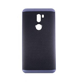 Чехол-Накладка DK-Case силикон с пластик бортом iPaky для Xiaomi Mi 5S Plus (deep blue)