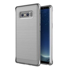 Чехол-накладка DK-Case силикон Carbon Steel для Samsung Note 8 (grey)