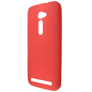 Чехол  ultra slim matting TPU for ASUS Zen Fone 2 ZE500CL red
