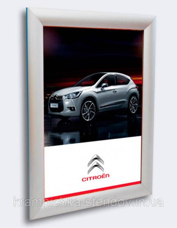 Алюминевая рамка А4-А3 с Click системой