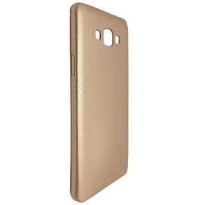 Чехол-накладка DK-Case кожа для samsung A700 (gold)