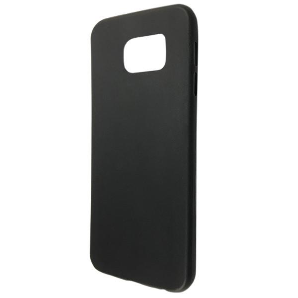 Чехол ultra slim matting TPU SAMSUNG S6 (black)