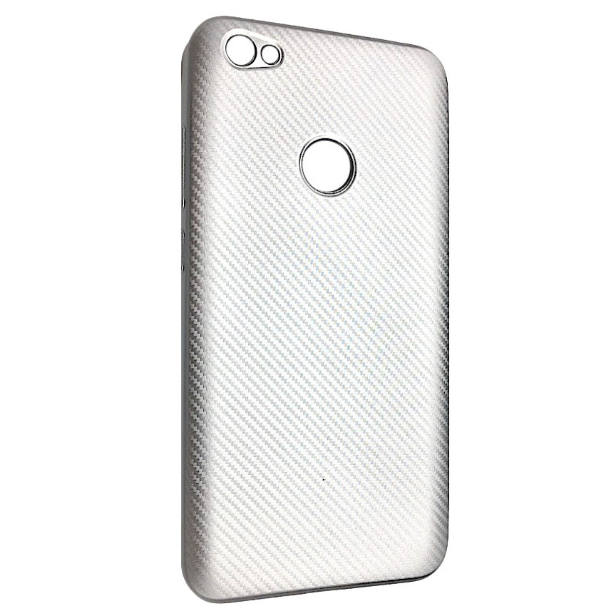 Чехол Carbon Xiaomi Redmi Note 5A Prime (silver)