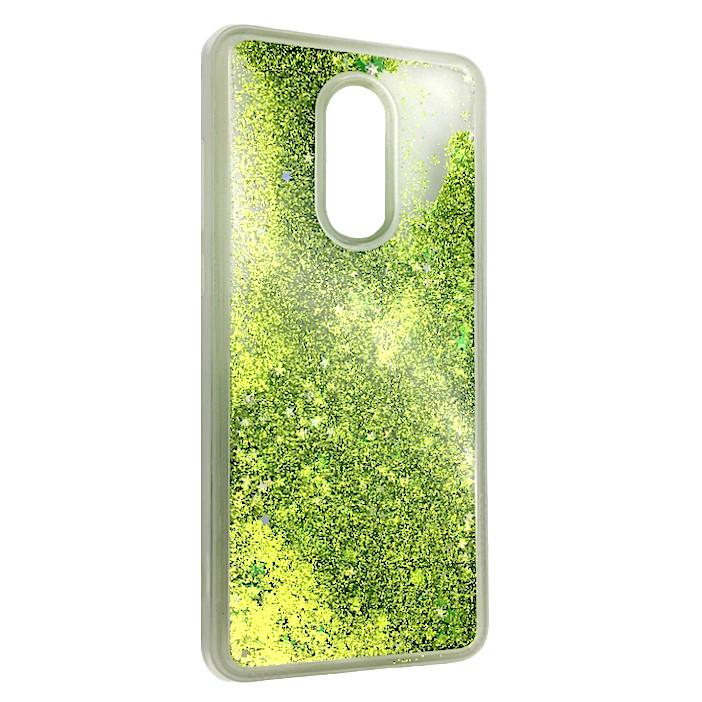 Чехол Аквариум Звёзды Xiaomi Redmi 5 (light green)