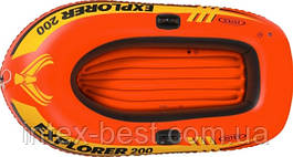 Intex 58330 - детская надувная лодка Explorer 200 185х94х41 см