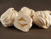 Натуральный зефир амур с фруктово-мармеладной начинкой на пектине солодка мрія
