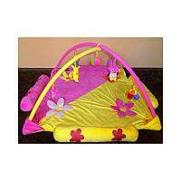 Детский игровой коврик для малышей, розовый