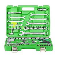 "Набор инструментов 1/2"" & 1/4""; 82ед, Cr-V Intertool ET-6082SP"