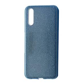 Чехол-накладка DK-Case Silicone Glitter Heaven Rain для Huawei P20 (blue)