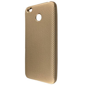 Чехол Carbon Xiaomi Redmi 4X (gold)