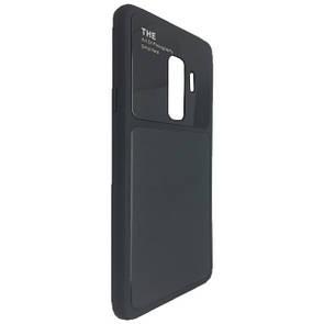 Чехол стекло Totu Arte Samsung S9 Plus (black)