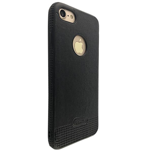 Чехол кожа Mikki Apple iPhone 5/5S (black)