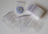 Пакетик с замком для значков, магнитов и сувениров