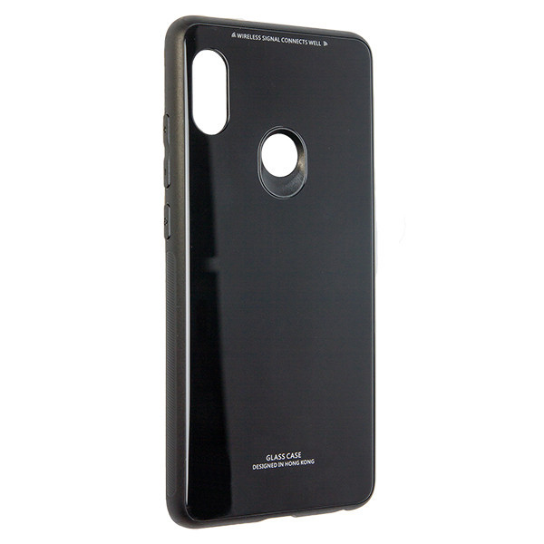Чехол Glass Case Xiaomi Redmi Note 5 (black)