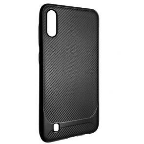 Чехол-накладка DK-Case Silicone SGP Carbon для Samsung M10 (black)