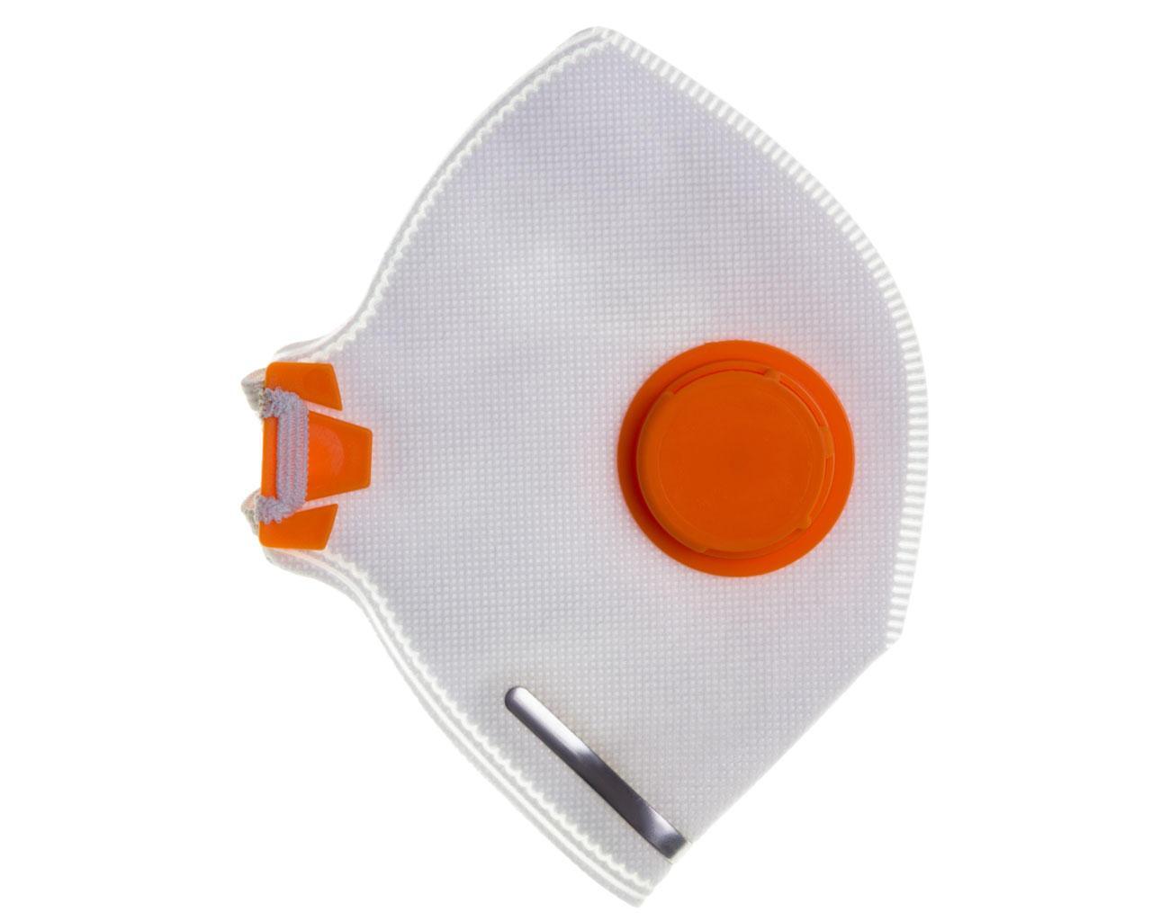 Респиратор Спектр-2К с клапаном жёлтый (аналог Росток 2ПК)