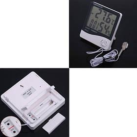 Термометр многофункциональный HTC-2, гигрометр, часы, будильник, купить