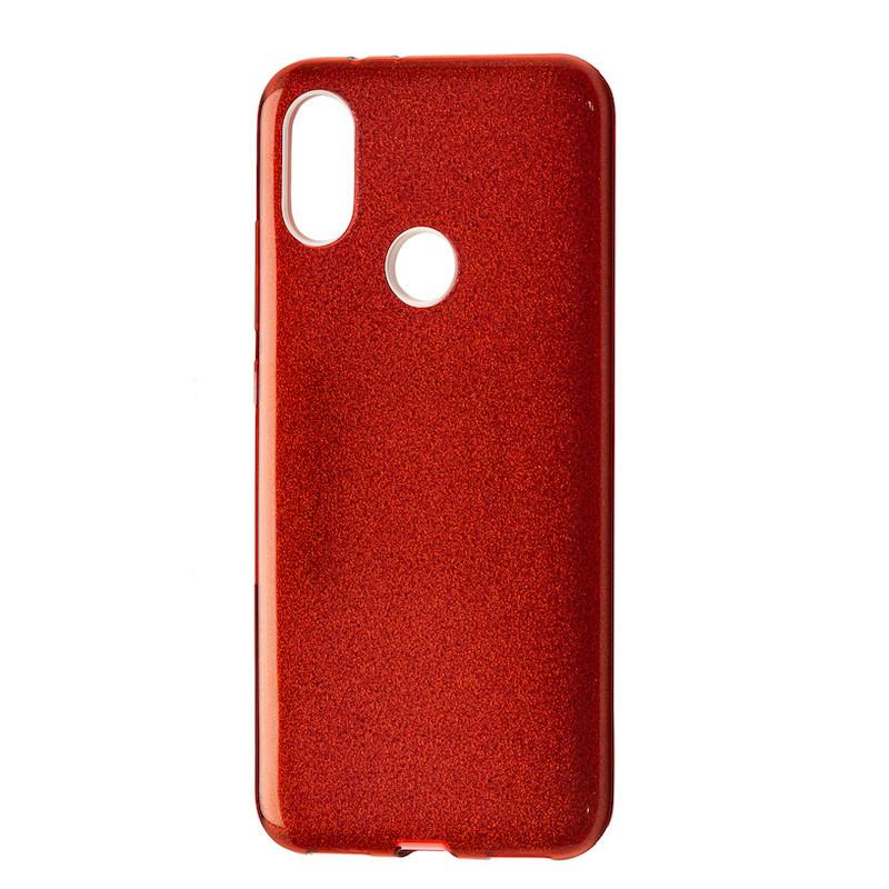 Чехол Silicone Glitter Heaven Rain Xiaomi Mi A2 (Mi 6X) (red)