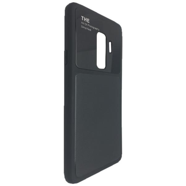 Чехол стекло Totu Arte Samsung S9 (black)
