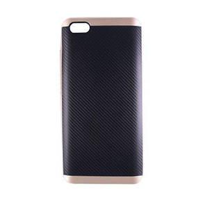 Чехол-Накладка DK-Case силикон с пластик бортом iPaky для Xiaomi Mi 5 (gold)