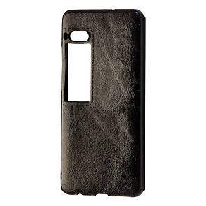 Чехол кожа Sitched Meizu Pro 7 (black)