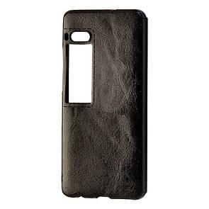 Чехол-накладка DK-Case силикон кожа Sitched для Meizu Pro 7 (black)
