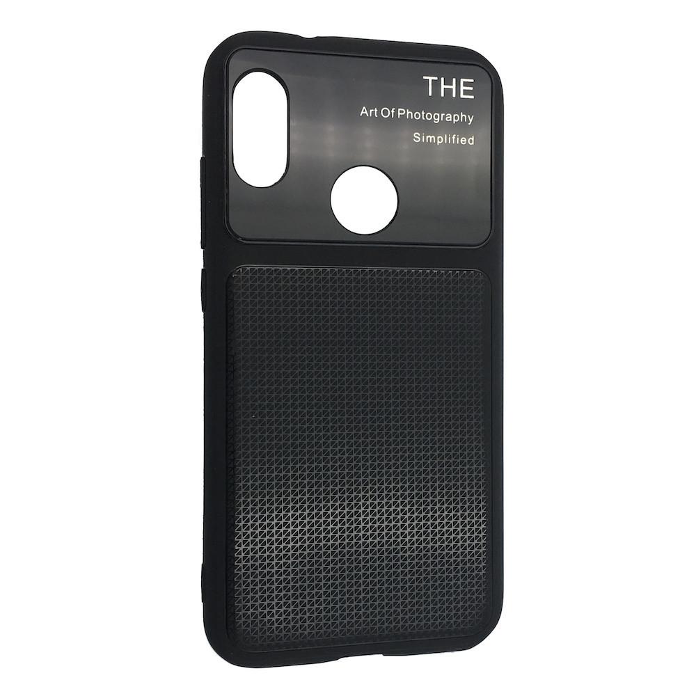 Чехол стекло Totu Arte Geometry Huawei P Smart Plus (black)
