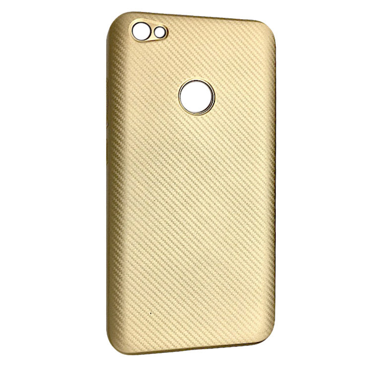 Чехол Carbon Xiaomi Redmi Note 5A Prime (gold)
