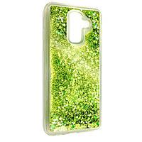 Чехол-накладка DK-Case силикон Аквариум Звёзды для Samsung J8 (2018) (light green)