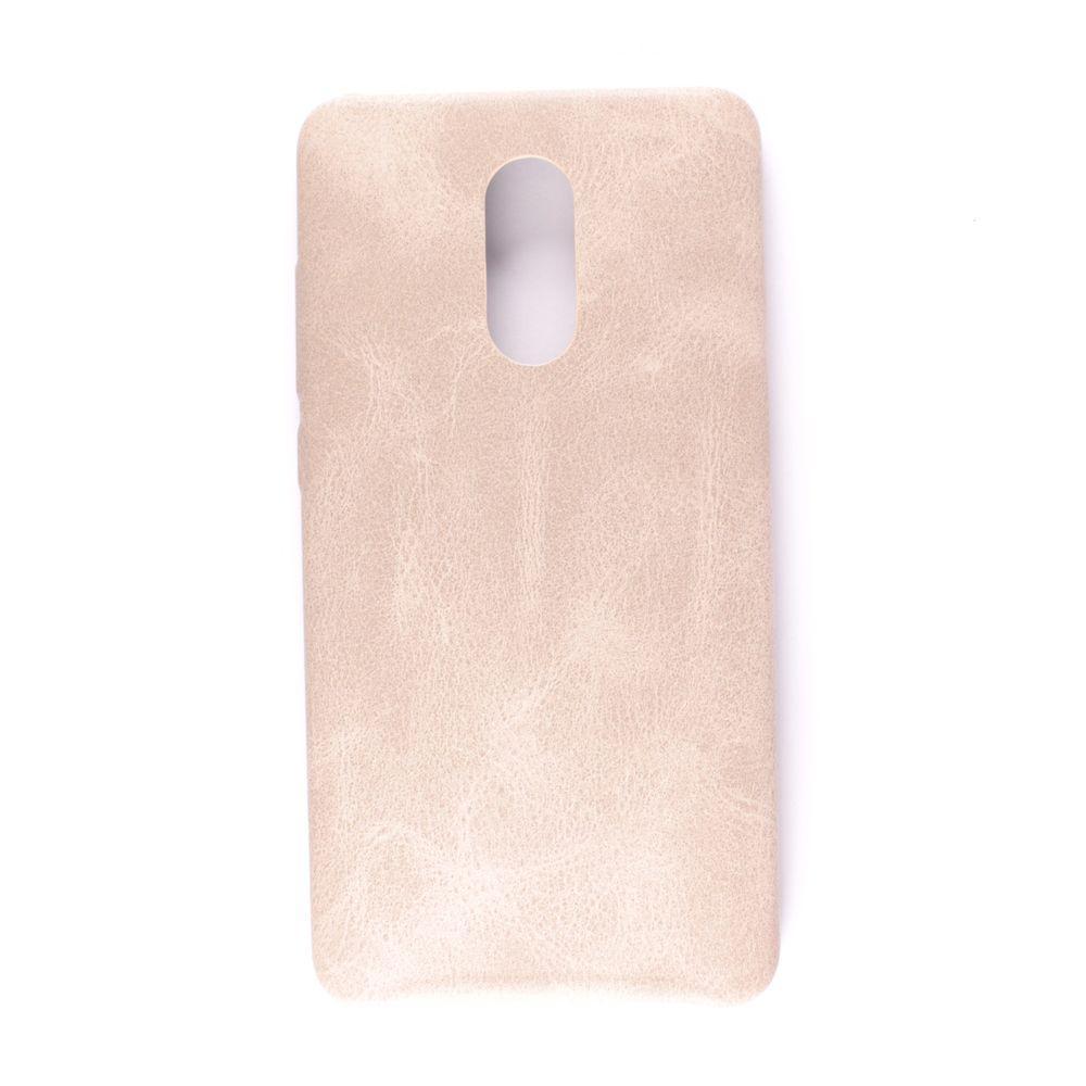 Чехол кожа True Leather Xiaomi Redmi Pro (cream)