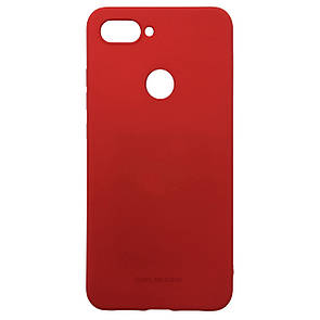 Чехол-накладка Silicone Hana Molan Cano для Xiaomi Mi 8 Lite (red)
