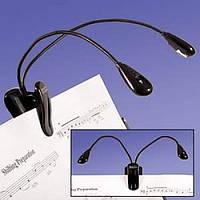 Светодиодный фонарь на гибкой подставке, для чтения книг, купить