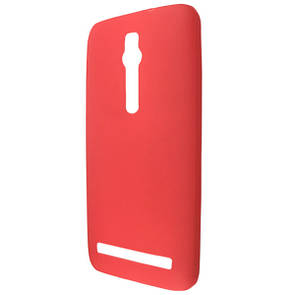 Чехол  ultra slim matting TPU for ASUS Zen Fone 2 ZE550ML red