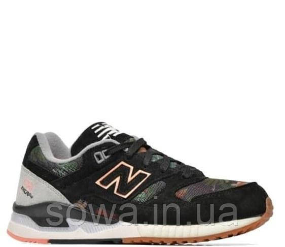 "✔️ Кроссовки New Balance 530 ""Floral Ink Black"""
