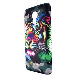 Чехол-накладка DK-Case пластик como luminescent для Meizu MX5 (Mr Tiger)