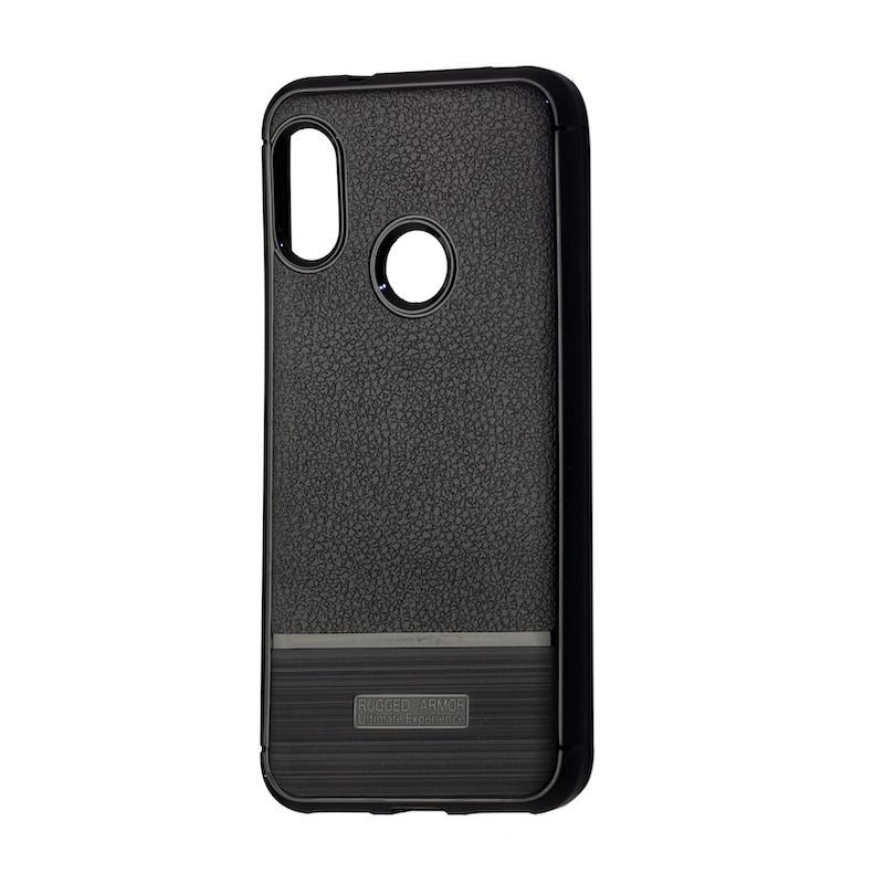 Чехол South Leather Rugged Xiaomi Redmi Note 6 Pro (black)