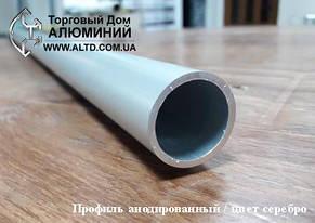 Труба круглая алюминий 30х2 без покрытия, фото 2