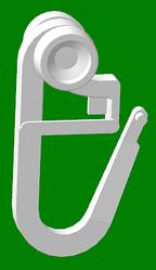 Крючок с роликом